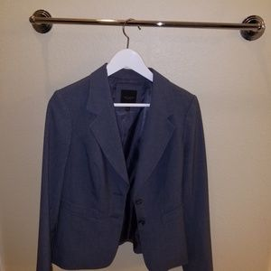 The Limited, Grey Blazer, Size 4